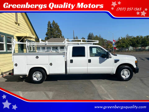 2008 Ford F-350 Super Duty for sale at Greenbergs Quality Motors in Napa CA