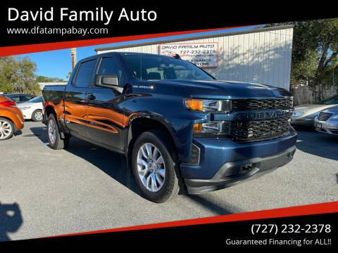 2019 Chevrolet Silverado 1500 for sale at David Family Auto in New Port Richey FL