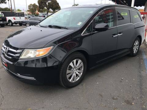 2015 Honda Odyssey for sale at Auto Max of Ventura in Ventura CA