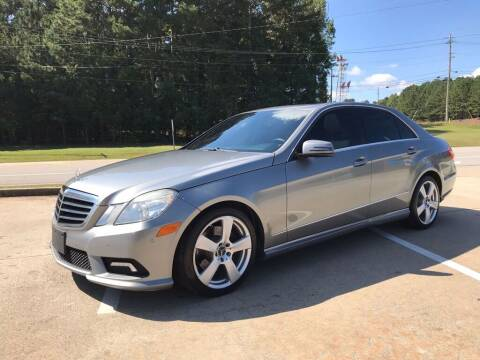 2011 Mercedes-Benz E-Class for sale at Dreamers Auto Sales in Statham GA