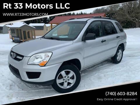 2010 Kia Sportage for sale at Rt 33 Motors LLC in Rockbridge OH