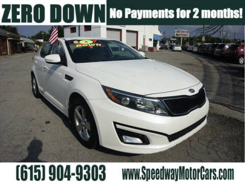 2014 Kia Optima for sale at Speedway Motors in Murfreesboro TN
