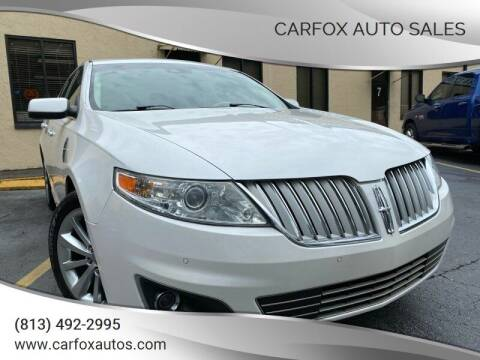 2011 Lincoln MKS for sale at Carfox Auto Sales in Tampa FL