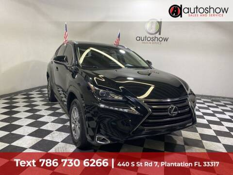 2016 Lexus NX 200t for sale at AUTOSHOW SALES & SERVICE in Plantation FL
