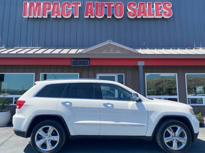 2011 Jeep Grand Cherokee for sale at Impact Auto Sales in Wenatchee WA