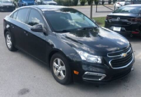 2015 Chevrolet Cruze for sale at BSA Pre-Owned Autos LLC in Hinton WV
