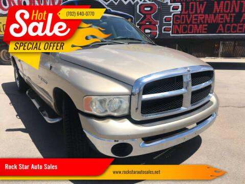 2005 Dodge Ram Pickup 1500 for sale at Rock Star Auto Sales in Las Vegas NV