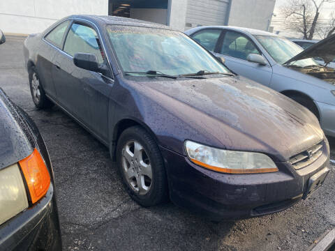 1998 Honda Accord for sale at JerseyMotorsInc.com in Teterboro NJ