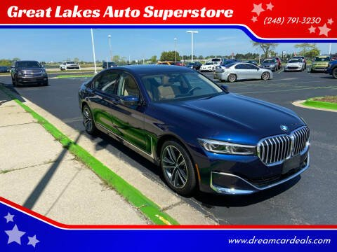 2021 BMW 7 Series for sale at Great Lakes Auto Superstore in Waterford Township MI