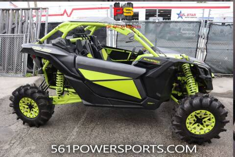 2021 Can-Am Maverick X3 X MR Turbo RR for sale at Powersports of Palm Beach in Hollywood FL