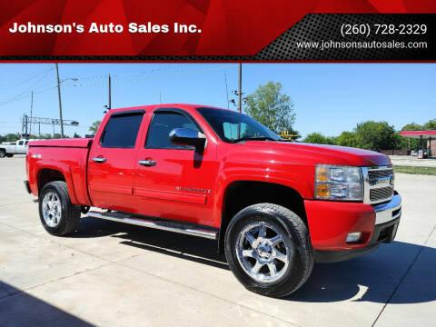 2009 Chevrolet Silverado 1500 for sale at Johnson's Auto Sales Inc. in Decatur IN