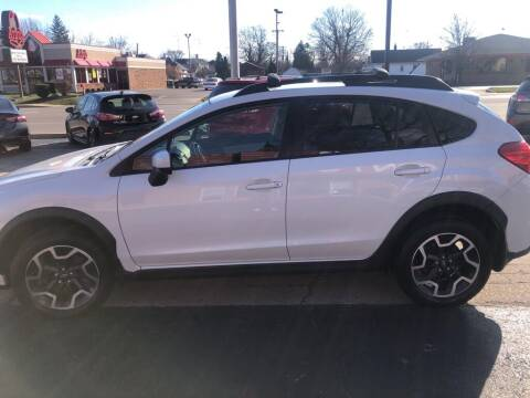2016 Subaru Crosstrek for sale at Tonys Car Sales in Richmond IN
