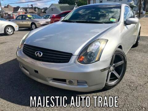 2004 Infiniti G35 for sale at Majestic Auto Trade in Easton PA