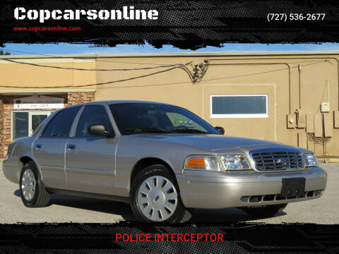 2008 Ford Crown Victoria for sale at Copcarsonline in Largo FL