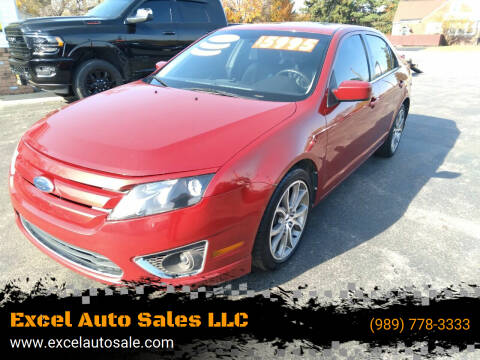 2010 Ford Fusion for sale at Excel Auto Sales LLC in Kawkawlin MI