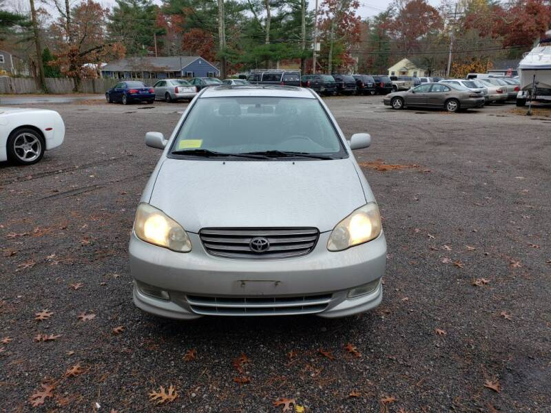 2004 Toyota Corolla for sale at 1st Priority Autos in Middleborough MA
