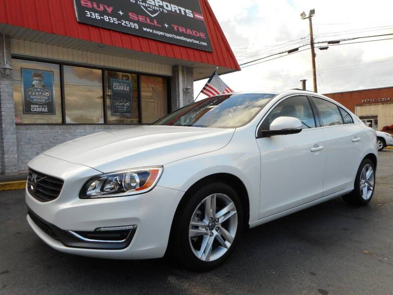 2015 Volvo S60 for sale at Super Sports & Imports in Jonesville NC