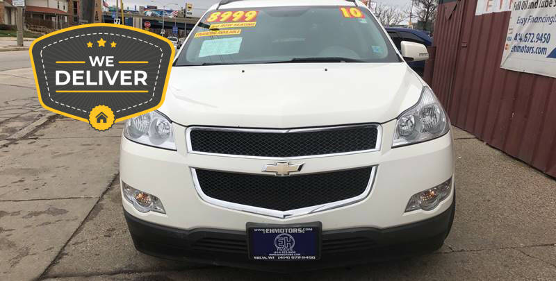 2010 Chevrolet Traverse for sale at E H Motors LLC in Milwaukee WI
