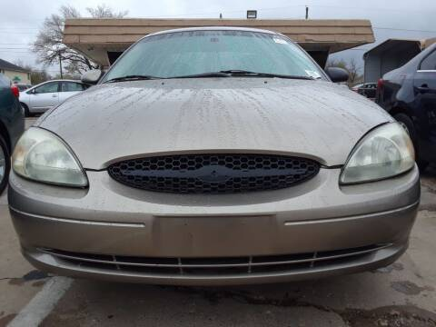 2002 Ford Taurus for sale at Auto Haus Imports in Grand Prairie TX
