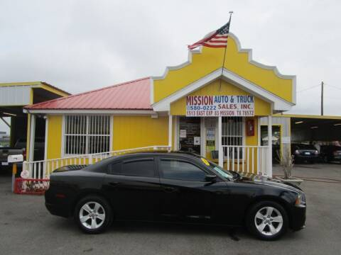 2014 Dodge Charger for sale at Mission Auto & Truck Sales, Inc. in Mission TX