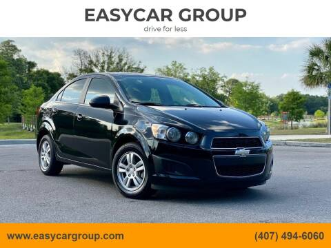 2015 Chevrolet Sonic for sale at EASYCAR GROUP in Orlando FL