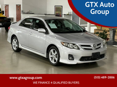2011 Toyota Corolla for sale at GTX Auto Group in West Chester OH