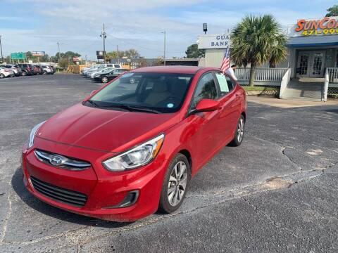 2015 Toyota Corolla for sale at Sun Coast City Auto Sales in Mobile AL