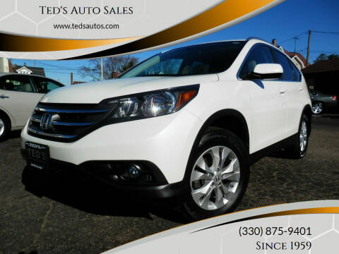 2012 Honda CR-V for sale at Ted's Auto Sales in Louisville OH