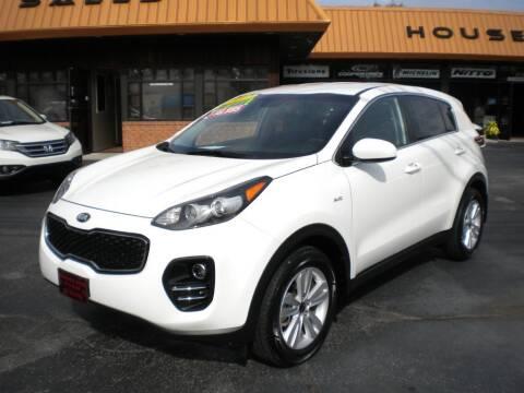 2017 Kia Sportage for sale at Houser & Son Auto Sales in Blountville TN