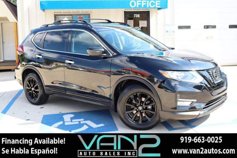2018 Nissan Rogue for sale at Van 2 Auto Sales Inc in Siler City NC