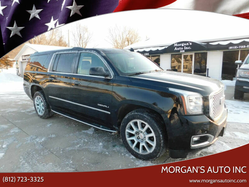 2017 GMC Yukon XL for sale at Morgan's Auto Inc in Paoli IN