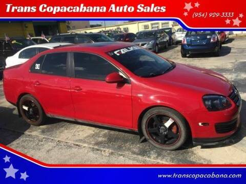 2010 Volkswagen Jetta for sale at Trans Copacabana Auto Sales in Hollywood FL