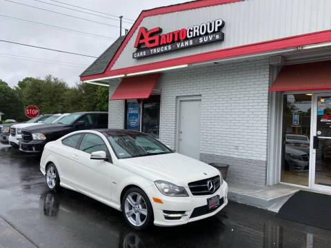 2012 Mercedes-Benz C-Class for sale at AG AUTOGROUP in Vineland NJ