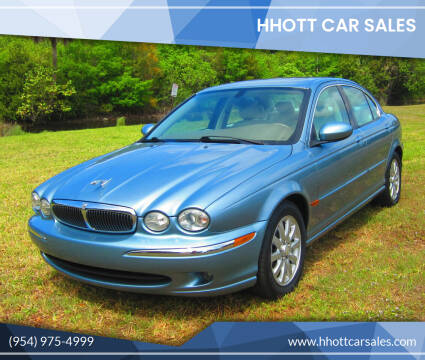 2003 Jaguar X-Type for sale at HHOTT CAR SALES in Deerfield Beach FL