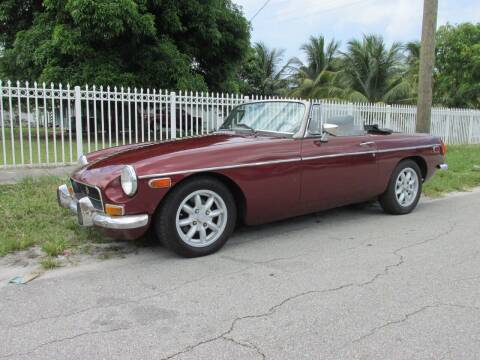 1971 MG B for sale at TROPICAL MOTOR CARS INC in Miami FL