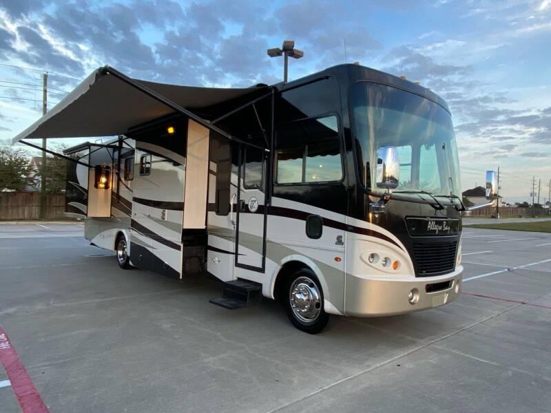 2009 Tiffin Allegro Bay 35TSB,340hp Diesel for sale at Top Choice RV in Spring TX