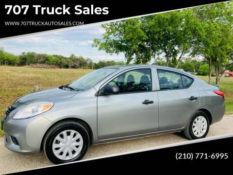 2014 Nissan Versa for sale at 707 Truck Sales in San Antonio TX