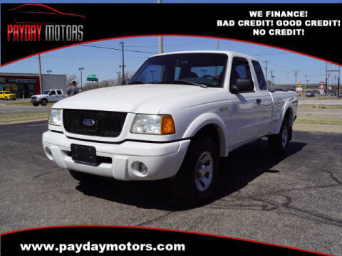 2002 Ford Ranger for sale at Payday Motors in Wichita And Topeka KS