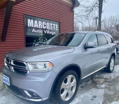 2014 Dodge Durango for sale at Marcotte & Sons Auto Village in North Ferrisburgh VT