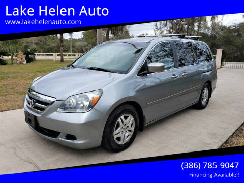 2006 Honda Odyssey for sale at Lake Helen Auto in Lake Helen FL