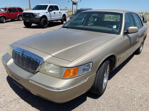 1999 Mercury Grand Marquis for sale at PYRAMID MOTORS - Pueblo Lot in Pueblo CO