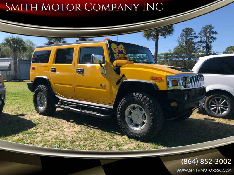 2004 HUMMER H2 for sale at Smith Motor Company INC in Mc Cormick SC