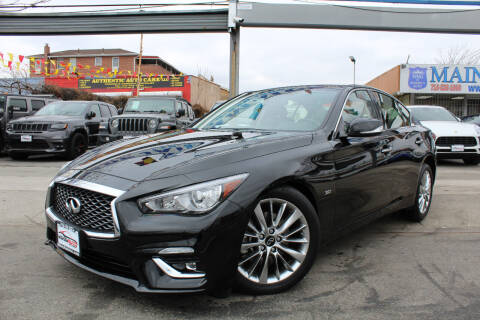 2020 Infiniti Q50 for sale at MIKEY AUTO INC in Hollis NY