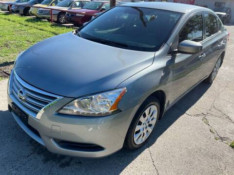 2014 Nissan Sentra for sale at Cash Car Outlet in Mckinney TX