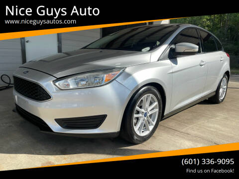2017 Ford Focus for sale at Nice Guys Auto in Hattiesburg MS