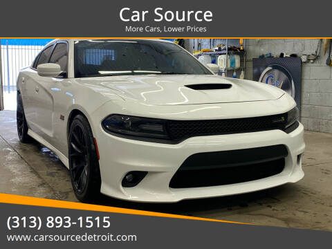 2018 Dodge Charger for sale at Car Source in Detroit MI