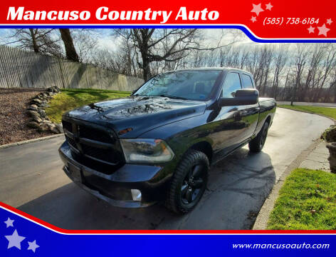 2015 RAM Ram Pickup 1500 for sale at Mancuso Country Auto in Batavia NY