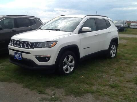 2017 Jeep Compass for sale at Garys Sales & SVC in Caribou ME