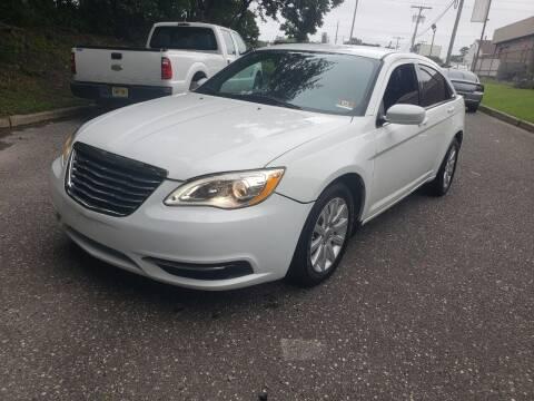 2013 Chrysler 200 for sale at CRS 1 LLC in Lakewood NJ