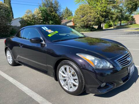 2011 Infiniti G37 Convertible for sale at 7 STAR AUTO in Sacramento CA